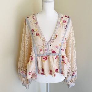 Free People Boogie Nights Top